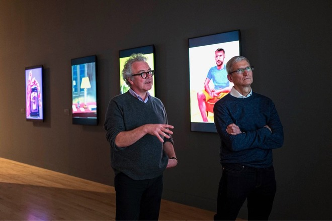 Tim Cook bij Tate Britain