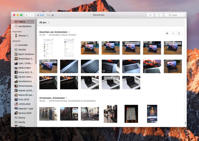 Mac Foto's-backup maken