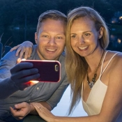 Selfieflitser (Retina Flash) gebruiken voor iPhone-selfies