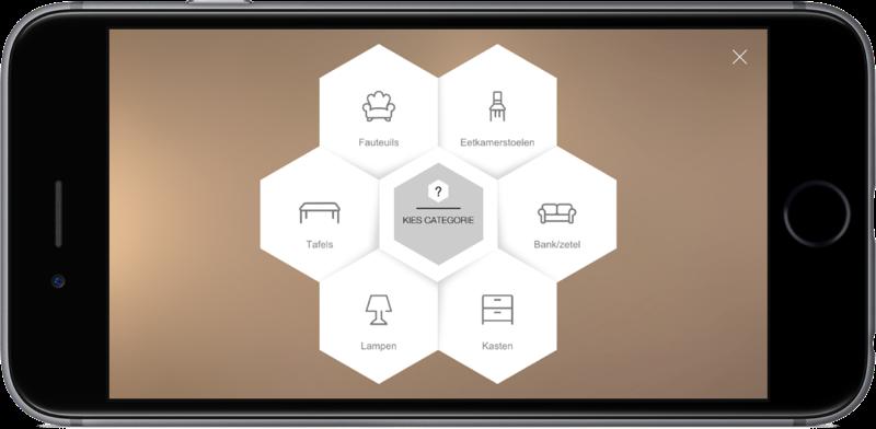 Amikase & bol.com met meubels.