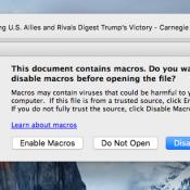 Knullige nieuwe Mac-malware maakt gebruik van Word-macro's