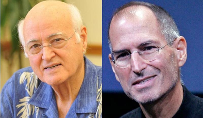 Steve Jobs' vader