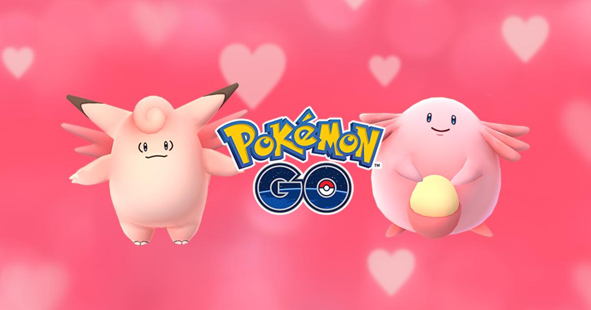 Pokemon Go Valentijnsdag.