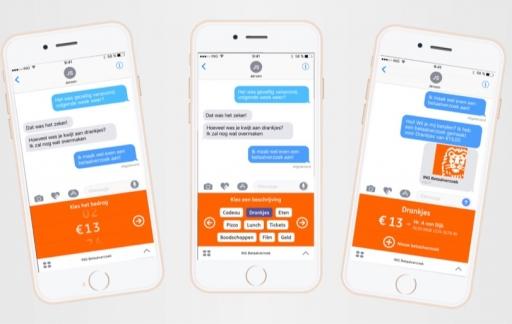 ING Bankieren iMessage app.
