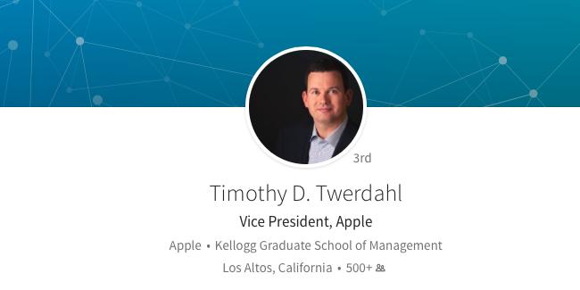 Timothy Twerdahl