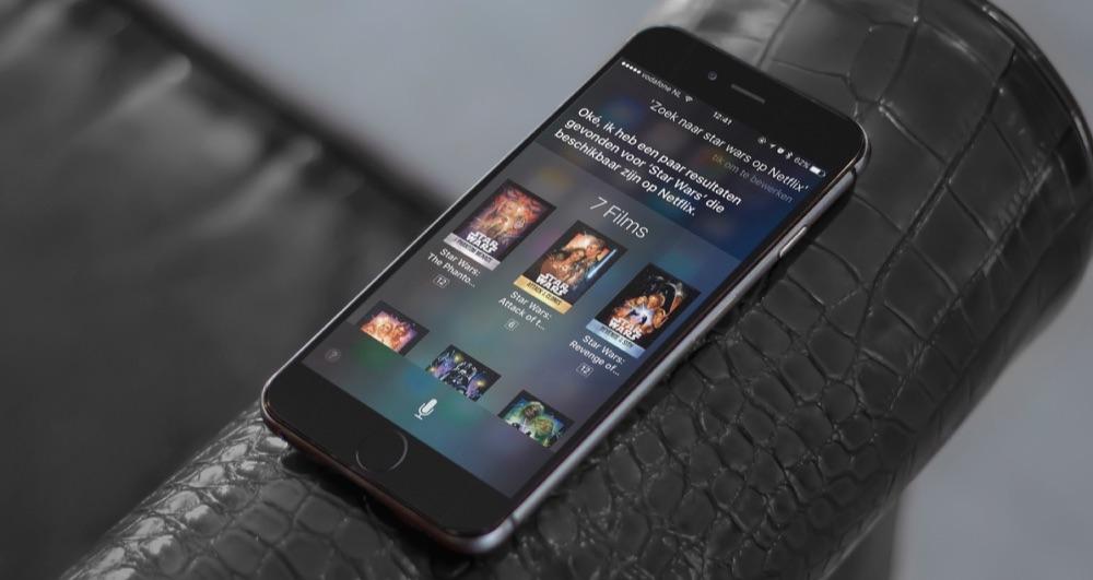 Star Wars starten op Netflix via Siri.