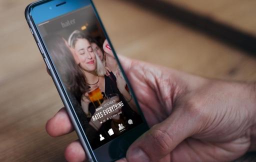 Hater-app voor iPhone
