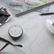 IKEA slimme verlichting TRÅDFRI, afstandsbediening met koffie
