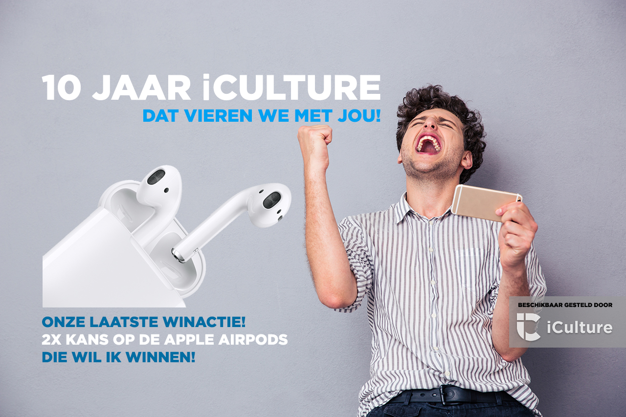 iCulture winactie: Apple AirPods