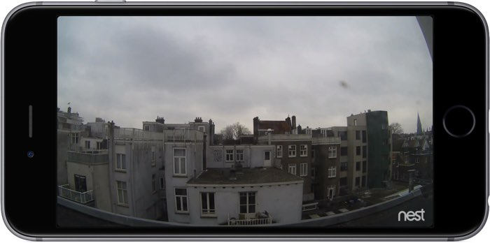 Nest Cam Outdoor: livebeeld in 720p