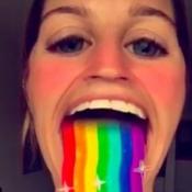 Snapchat regenboog