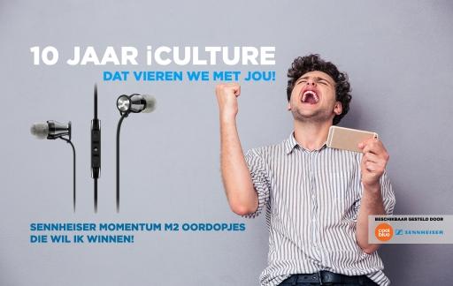 iCulture winactie: Sennheiser Momentum M2 oordopjes