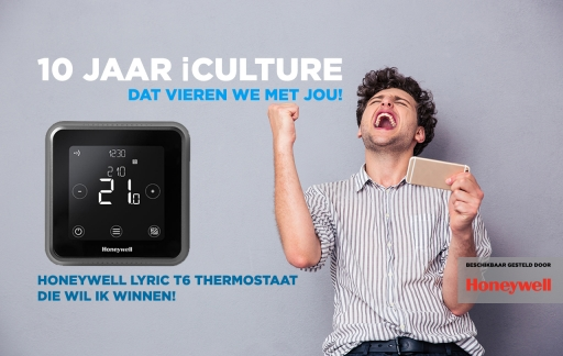 iCulture winactie: Honeywell Lyric T6 thermostaat