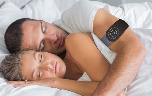 Anti-snore armband