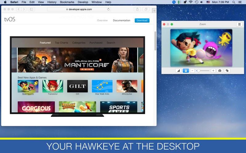 Zoom op de Mac.