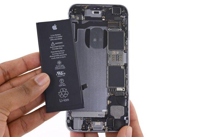 Batterij iPhone vervangen