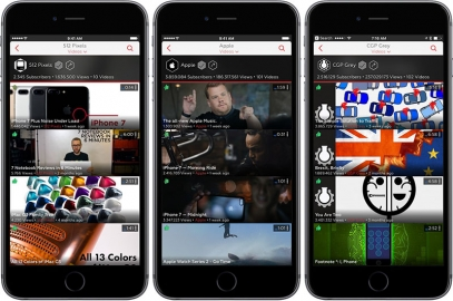 ProTube iPhone-app