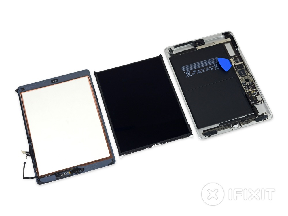 Teardown iPad 2017.