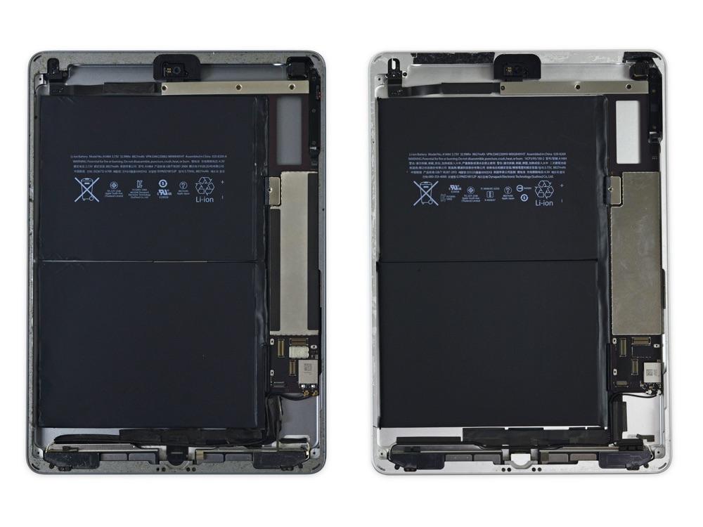 Teardown iPad 2017 en iPad Air.