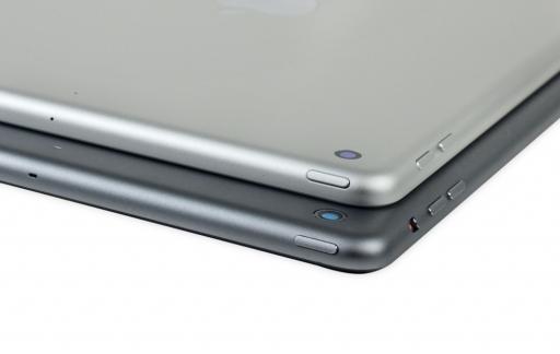 2017 iPad en iPad Air bij elkaar.