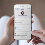 Apple ID en iCloud beheren via de iPhone.