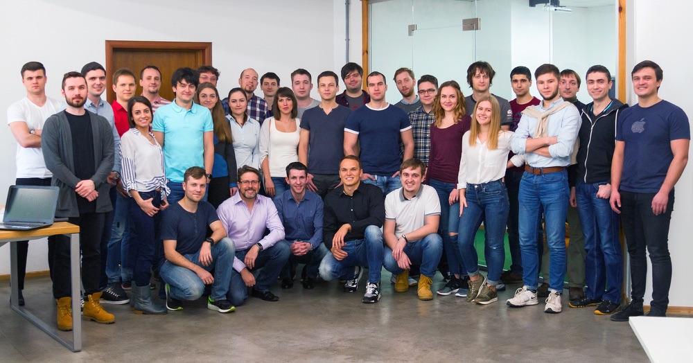 Team van Readdle ontwikkelaars.