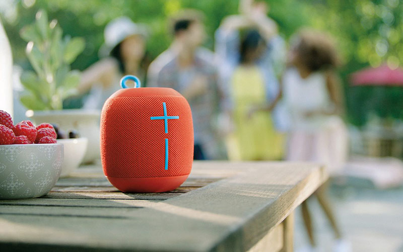Ultimate Ears Wonderboom outdoors