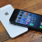 iPhone 5 op tafel
