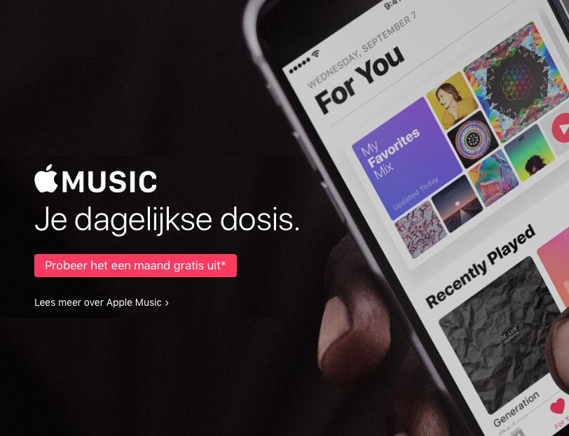 Apple Music proefperiode 1 maand Nederland