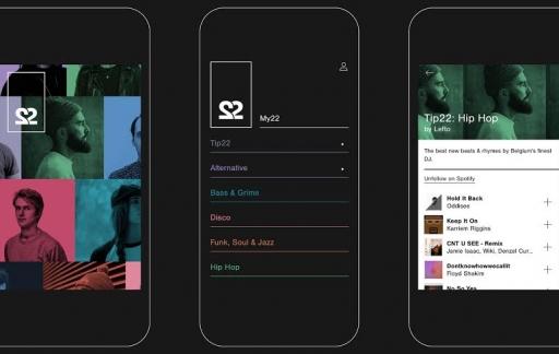 22tracks iOS-app
