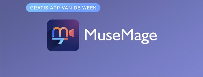 MuseMage is Apple's gratis App van de Week