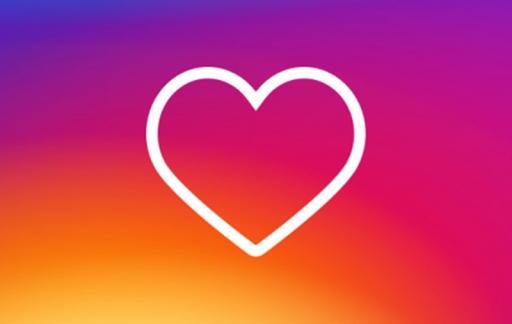 Instagram-hartje