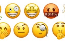 Emoji gezichten kots, ontploffend hoofd en meer.