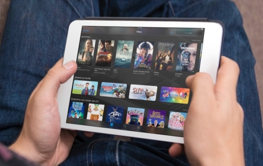 Films huren in iTunes op de iPad.