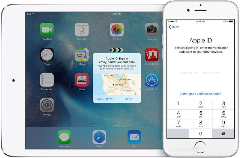 Apple twofactor iCloud