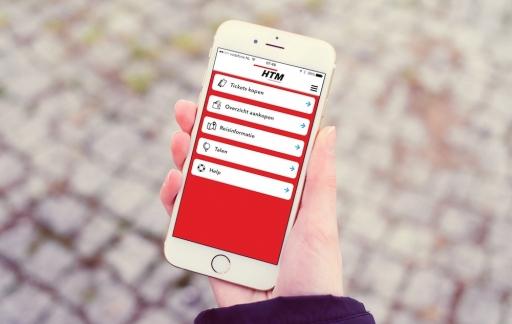 HTM Ticket app: reizen met digitaal kaartje in bus en tram
