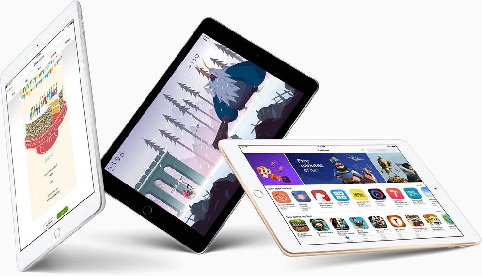 iPad 9,7-inch van 2017.