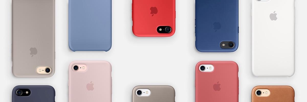 Nieuwe iPhone-hoesjes voor het voorjaar 2017.
