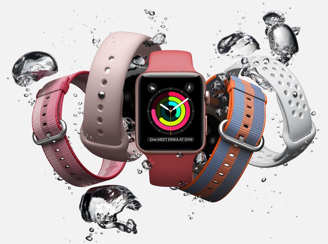 Apple Watch bandjes lente 2017