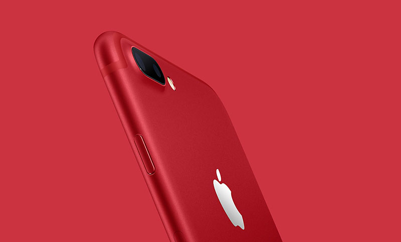 iPhone 7 rode kleur