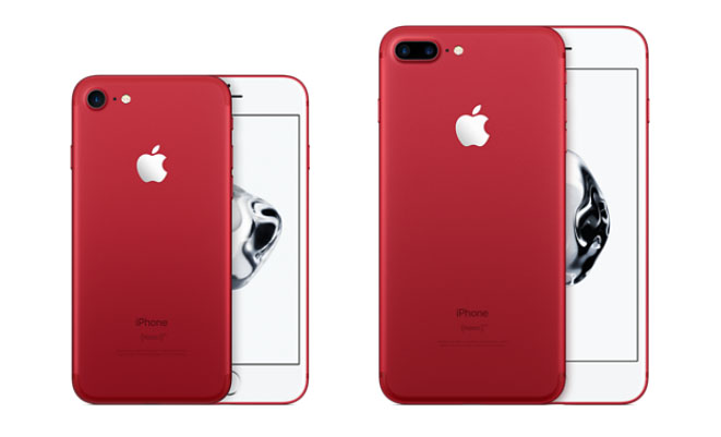 iPhone 7 Product RED modellen