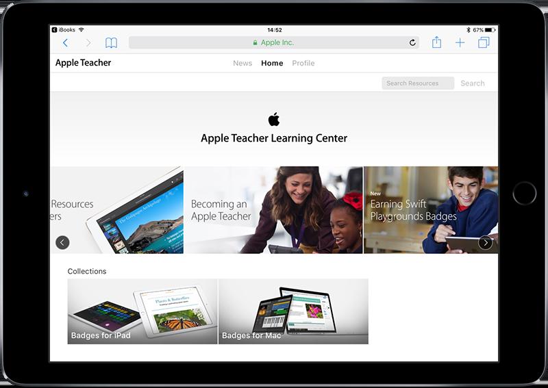 Apple Teacher resources