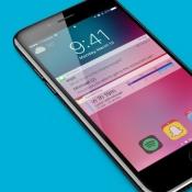 iOS 11 concept toegangsscherm