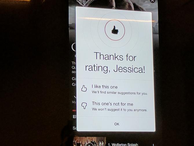Netflix vervangt beoordeling met sterren door duimpjes