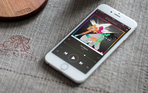 Spotify op iPhone