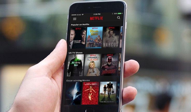 Netflix mobiel