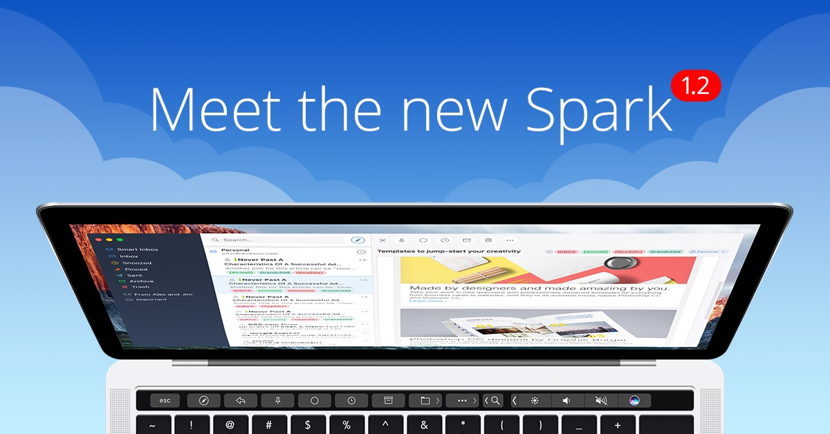 Spark 1.2 voor Mac.