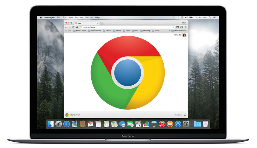 Google Chrome voor Mac