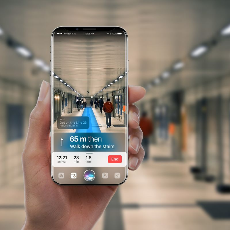 iPhone concept met AR