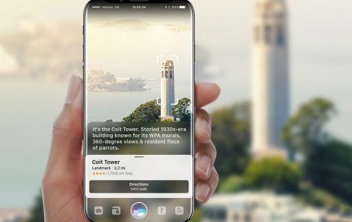 iPhone concept met AR door Gabor Balogh